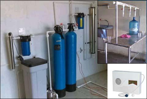 purificadora de agua centro de llenado