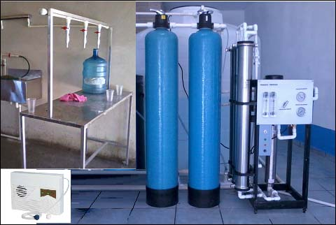 purificadora de agua 500 garrafones